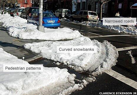 This week's snow is revealing how streets could be safer. http://t.co/B2BXGewfMO #sneckdown #CompleteStreets http://t.co/81Qs7PyrNP
