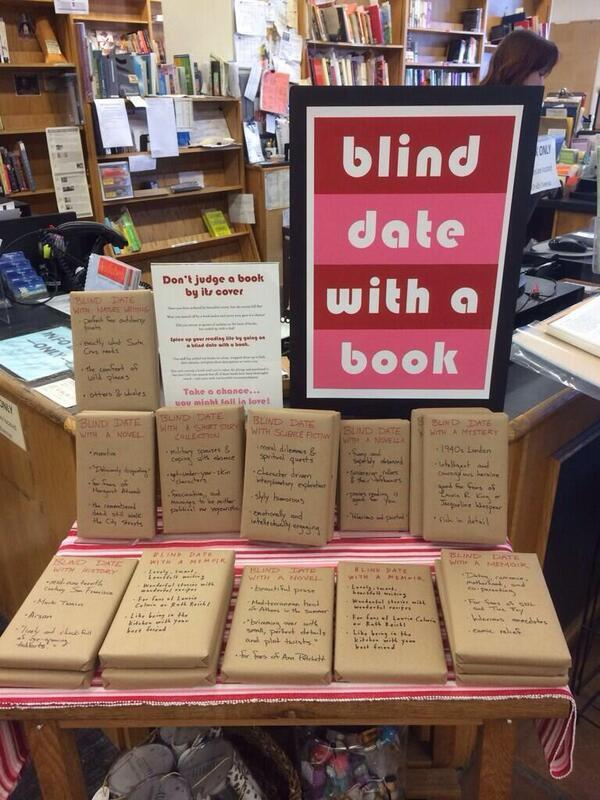 Great idea from booksellers & librarians-Blind date with a book @BookshopSC courtesy of @GabrielleSocial @mollyflatt http://t.co/NCE9l4IMhW