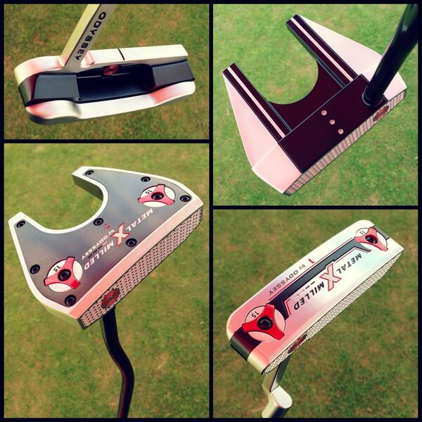 First look: New Versa Metal-X Milled putters on display at the #PGAShow --> http://t.co/iJeOr08CJI