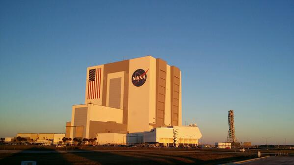 Sunrise at Kennedy Space Center http://t.co/Fzf3YH9vMD