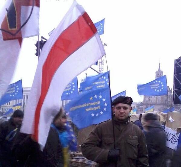 Беларус, які загінуў на Майдане ў Кіеве, Міхаіл Жызнеўскі з Гомеля.  Вечная памяць! #євромайдан #euromaidan http://t.co/taq5cil5X0