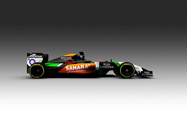 We're liking the sleek new-look for @clubforce - counting down now until we see the 2014 challenger! #FeelTheForce http://t.co/h1S6aMjinP