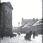 Not much change in snow clearing! MT @old_stjohns: Water Street, snow covered with horse drawn carts, pre-1892. #yyt http://t.co/FvBONZD0AB