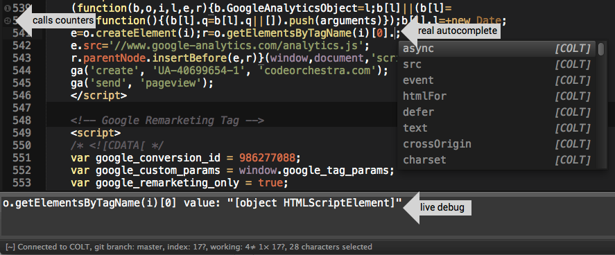 COLT plugin for Sublime Text