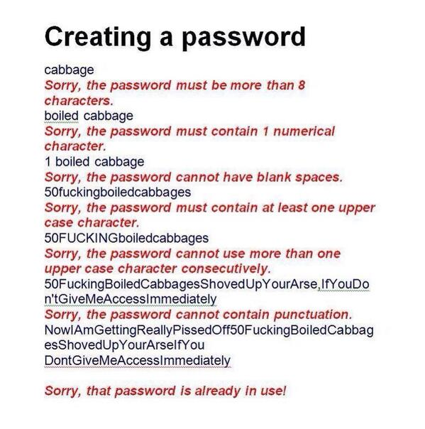 The illusive password. Thanks @Samitamimi http://t.co/45ZQVf197V