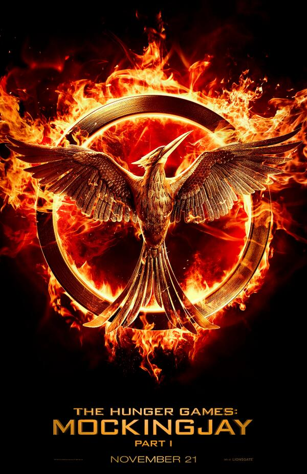 Check out the new logo for @TheHungerGames: Mockingjay Part 1… and RT if you're excited for #Mockingjay! http://t.co/PZNnlkWx0w