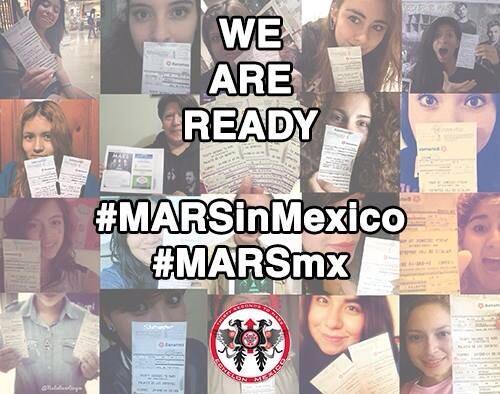 WE ARE READY! @30SECONDSTOMARS @JaredLeto @ShannonLeto @tomofromearth #MARSinMexico #30STMMx http://t.co/iJWrRNdqnr