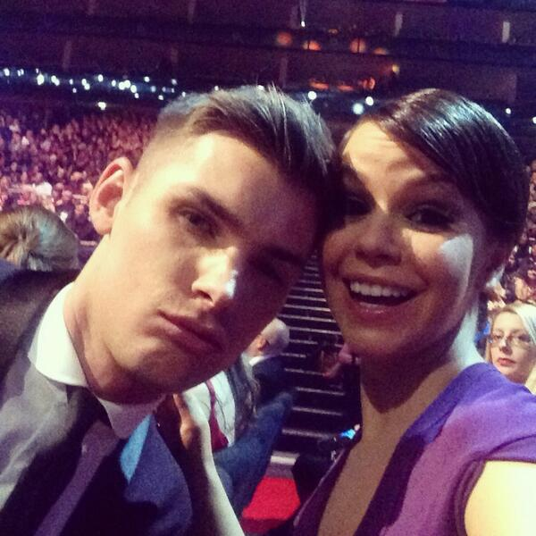 Awww @MrkieronR is cross because Cheryl isn't here... #NTA http://t.co/VtqW1dpx99
