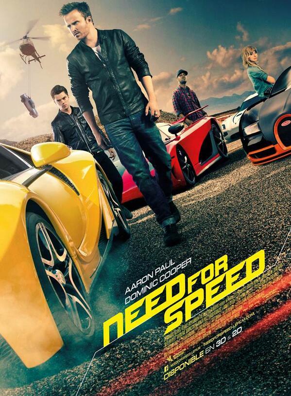 Affiche du film Need for Speed, au cinéma le 16 avril #nfs http://t.co/giMAsUDu4Q