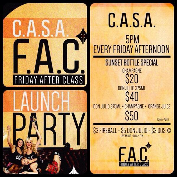 This Friday @bttrthanyours kicks off #FAC #FridayAfterClass at CASA in Tempe on Mill Avenue! ASU swang thru! http://t.co/dVHVKZiA9h