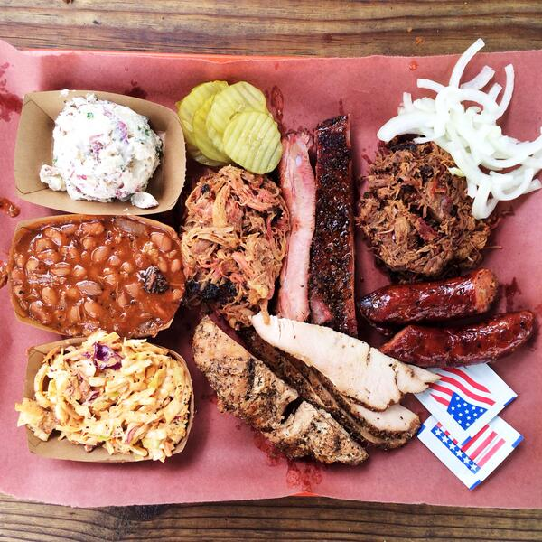 Wow. Great pic. Looks incredible. RT @DeanaSaukam: just a taste. #Texas #BBQ with @pocketfork @la_Barbecue http://t.co/73KurOxDpe