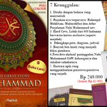 """The Great Story of Muhammad SAW"" 600hal fullwarna Rp‎ 249.000 (HEMAT Rp 41ribu) SMS 0857 9066 6661 http://t.co/1eZdHwPyhh"
