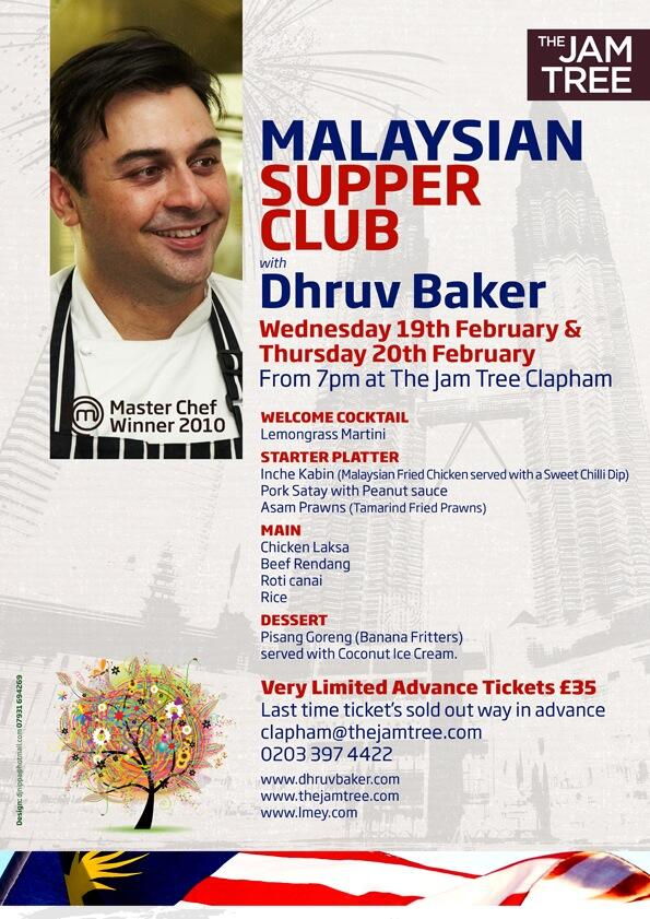 Morning all. Details of my next supperclub - going Malaysian this time! Booking details, menu attached http://t.co/zlUpNvm4hS
