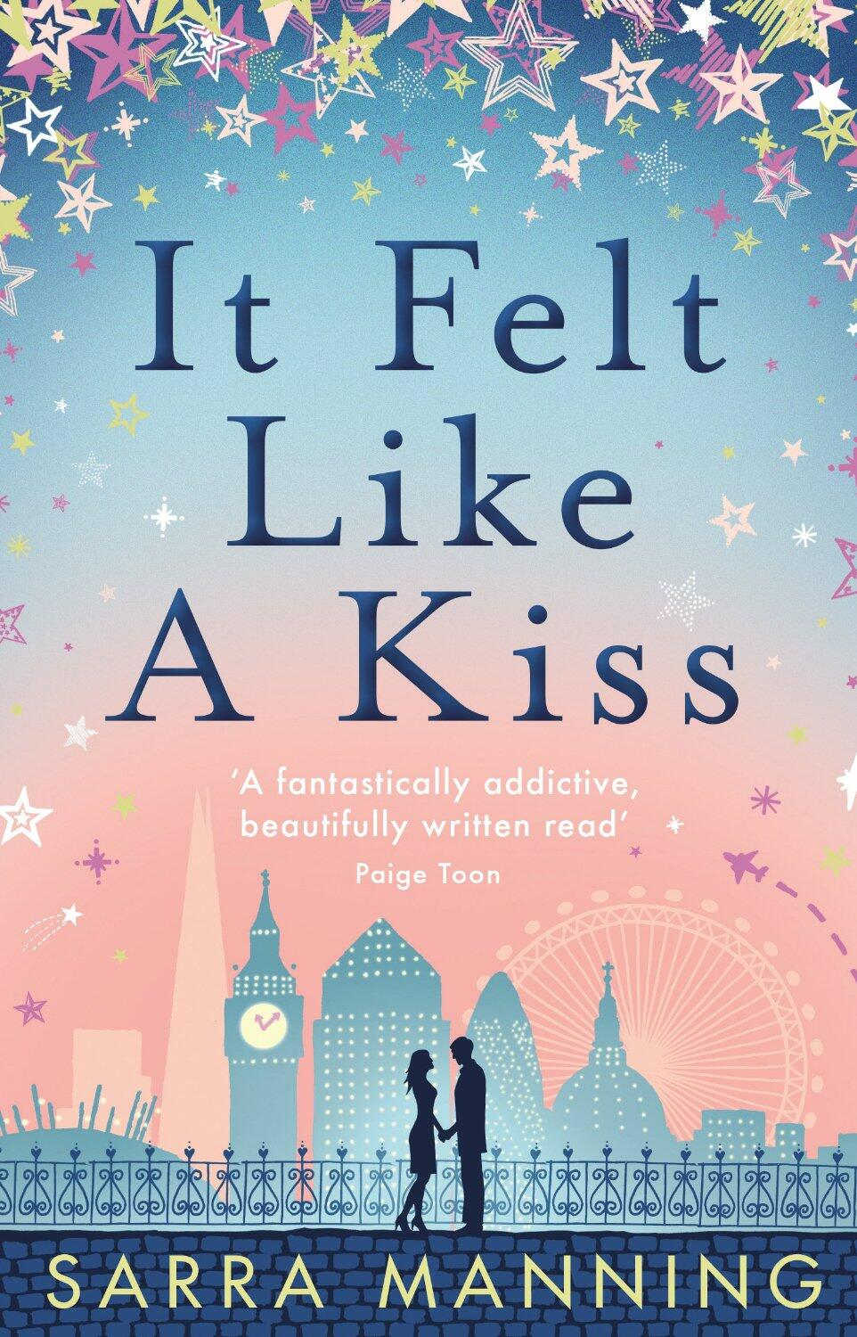 Want to read the first 5 chapters of IT FELT LIKE A KISS by @sarramanning? 1st chapter up on Sun! @TransworldBooks http://t.co/4chTqjgoOk