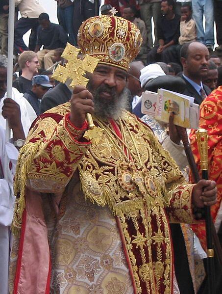 キリスト教は欧米人のものと思っている方々のために、ここで、歴史的に古い起源を持つキリスト教の一派であるエチオピア正教前総主教の御姿をご覧ください。 http://t.co/Uekmz6pTVA