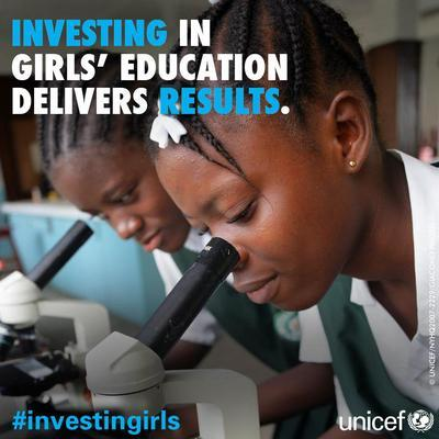When we #investingirls, we invest in healthier families, communities and nations, and in a more equitable world. http://t.co/IUo0XeKlkF