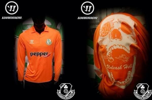 BeqoUjFIgAAkRIv Shamrock Rovers set to unleash hell with horror orange keepers strip! [Pictures]