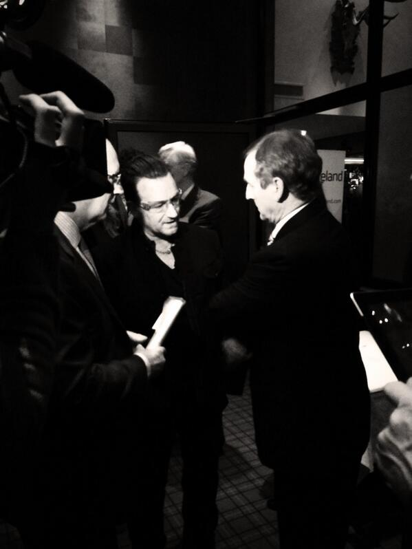 What Bono does for Ireland often does unnoticed. He's spending time talking to those who'll bring jobs to country. http://t.co/eHf2N5pd1J