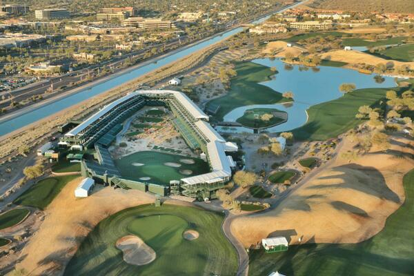 "#16thHole #greenestshow ""RT @chopperguyhd: Party time flying above 16th hole! @WMPhoenixOpen @smithcgjr http://t.co/kvYzV3r1RP"""