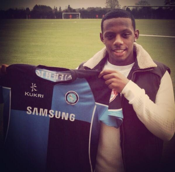 Happy to have signed for @wwfcofficial today really excited to get going thanks for all the warm welcoming messages