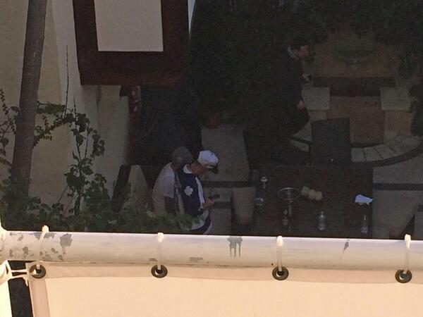 #JustinBieber pic from @GabyontheGo where he is apparently right now following his arrest earlier today. http://t.co/f2rQSsWDVu