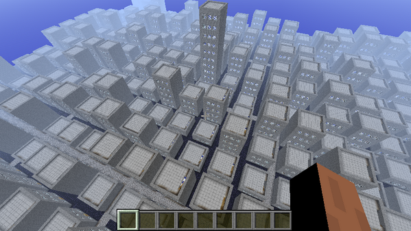 Cityscape rendered by #Forcecraft - every building is an account in Salesforce, every level an opportunity http://t.co/Nhgc6UGqHK