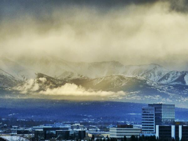 Anchorage winterscape. From atop the @InletTower hotel. http://t.co/rl6PrQjuJo