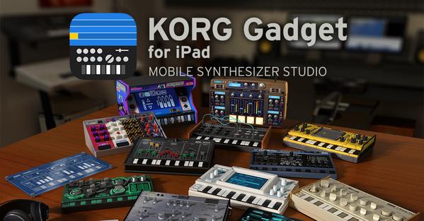 最高のモバイルシンセスタジオ KORG Gadget for iPad リリース! 15個のモバイルシンセサイザー/ドラムマシンを自由自在に組み合わせ、音楽制作できます。 https://t.co/moYRnB3XVd http://t.co/3lwQHms2qx