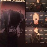 Photo booth dorkiness at the @ImagineDragons concert in LA, thanks to @citiprivatepass and a cubicle with a camera.