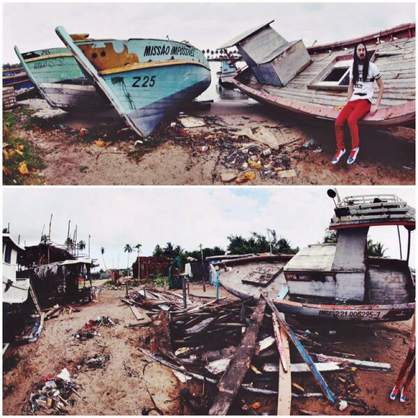 @steveaoki and I found this abandoned boat yard when in Brazil. #wolfpack http://t.co/sTjvBtcMzT