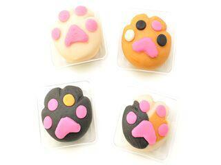 【拡散希望にゃ】第1回「福招き猫まつり」ありますよ!http://t.co/6eN4EDxAkq 新製品の肉球の上生菓子なう http://t.co/AsLs9yCBYH