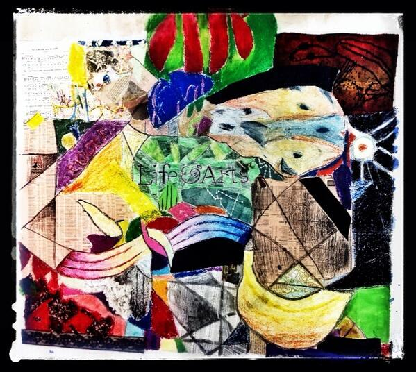 Year7 #cubist collaboration reimagined using #snapseed. Work now ready to go up in senior school! http://t.co/gE8kDbyhm3