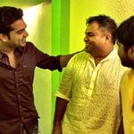 #Vaalu final work in full swinGOoooooo #tharrumarru album soon :) http://t.co/P3hOsVS5TW