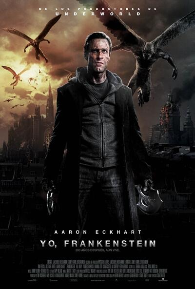 OFFICIAL: The Mexican poster for I, FRANKENSTEIN has the greatest foreign retitle ever. http://t.co/NiPKfWjHVS