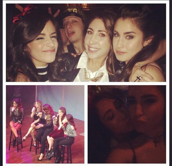 Me and my girls @LaurenJauregui @camilacabello97 last night @FifthHarmony killllled itttt!! http://t.co/fIH4NjWg1Z