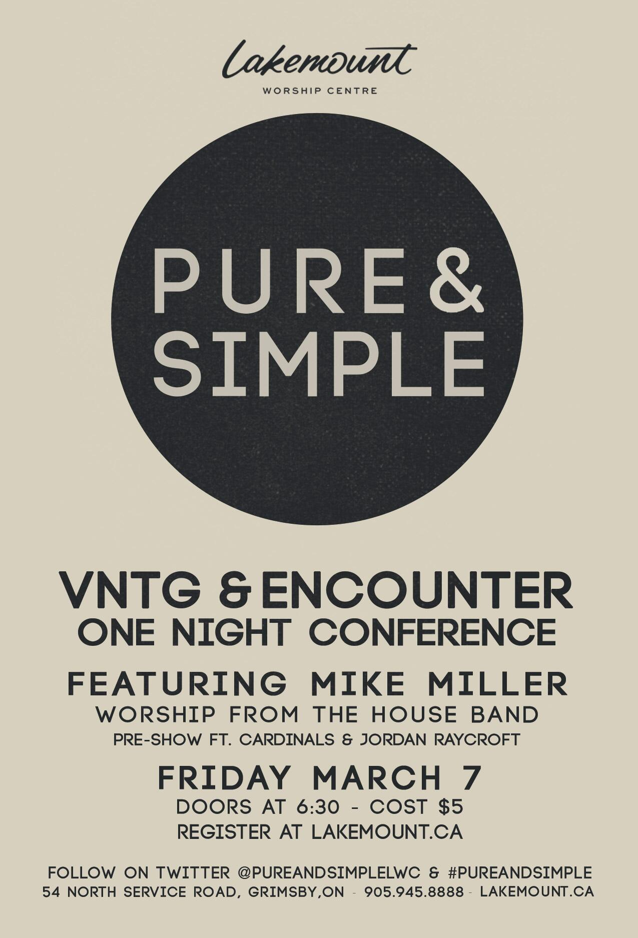 Spread the word! Pure & Simple  March 7, 2014 http://t.co/ZbKK6zuuzE