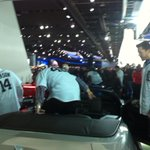 Final stop on the 2014 Caravan NAIAS.. Always a great time!! http://t.co/EY9RIpuKrU
