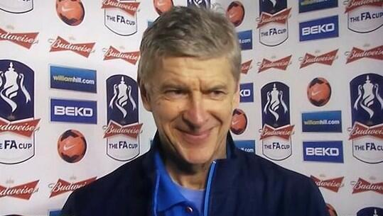 Here's the moment on @btsport when Wenger was asked about the report of #Arsenal agreeing a fee for Draxler. http://t.co/e6FYnxPqjp