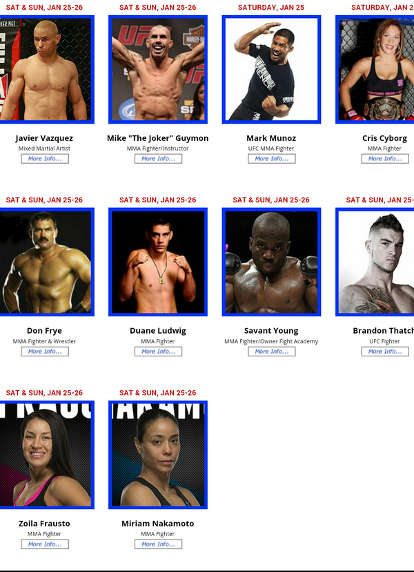 See me @ #LAFitnessExpo with some old friends @DUANEBANGCOM @mark_munoz @DonFryeFighter @criscyborg & Javier Vasquez http://t.co/Q4Kn0m9wiP