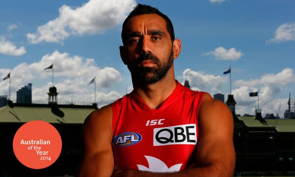 Congratulations Adam Goodes (@adamroy37) on being named #AusOfTheYear. We couldn't be prouder of your achievements http://t.co/nLXhtZ73jK