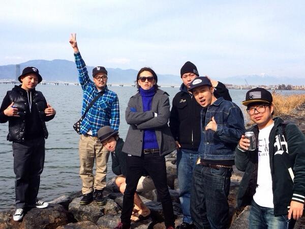 昨日のNUMBER SHIGA最高でした☆ 今から京都!HARD CREAM♬ http://t.co/RWRROaG1G8