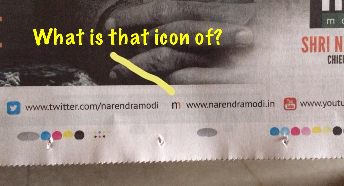Modi has a new web icon of him? http://t.co/czXL3l9WM0