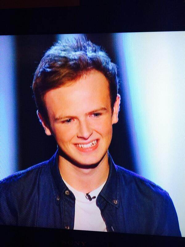 If @antanddec had a cute little 16 year old love child... He might look something like this kid from #TheVoiceUK... http://t.co/ZWlZUWZZFx