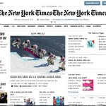 RT @robertpopper: New York Times front-page was all in binary today. Weird: