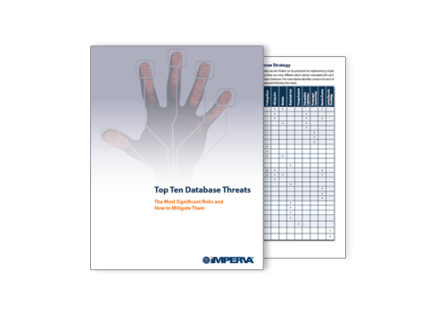 [GUIDE] Top Ten #Database Threats and How to Stop Them #infosec #security | Download: http://t.co/V5CO5bS2s5 http://t.co/AmK6yjncvp