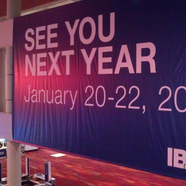 Thank you for attending #IBSVEGAS! http://t.co/be8b1ilh58