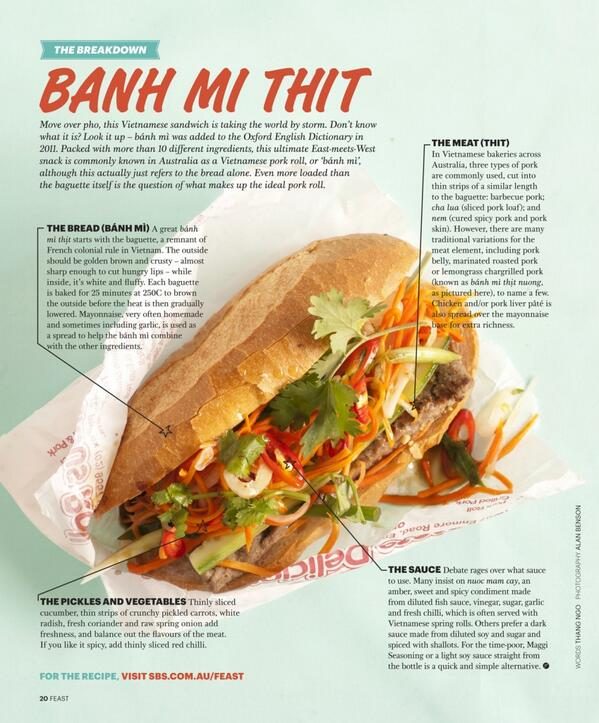 Chronology of the rise of pork rolls in Australia PLUS how to make one #banhmi http://t.co/Z5UVLAkyaL http://t.co/ixc7tTeNik
