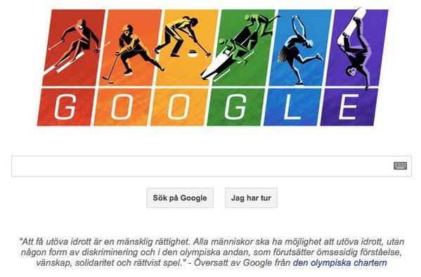 Eat this putin #google vs. #Sotchi Man måste älska googles indiskretion ;) http://t.co/0oW2ukYj7I