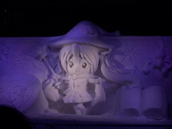 雪ミク雪像 http://t.co/nyrbY5zHdn
