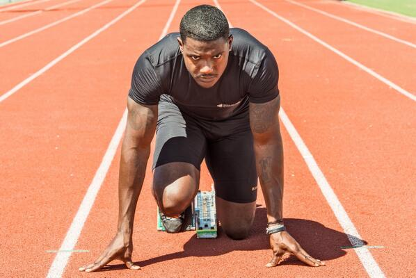 """Accomplish your goals & seize the day.""-@justingatlin #TeamUSA #Olympics2014 http://t.co/HLSZZnP6U5"